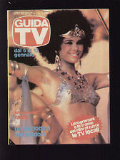 GUIDA TV MONDADORI 1/1980 PATRIZIA GARGANESE FILM TV LOCALI TRAME VIDEOBERGAMO