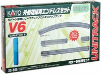 Kato 20-865 UNITRACK Variation Set V6 Outer Oval Track Set N scale