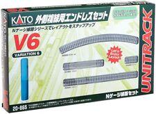 Kato 20-865 UNITRACK Variation Set V6 Outer Oval Track Set N scale