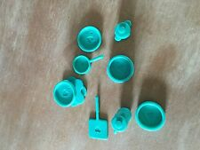 Barbie Dishes Green Heart Pitcher Doll Size