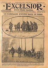 Patrouille Poilus Bataille d'Ypres Armée Française WWI 1914