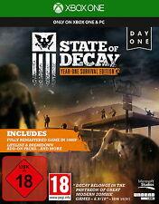 XBOX ONE State of Decay Year One Survival Edition deutsch OVP gebraucht komplett