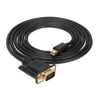 1,8 m Thunderbolt Mini DisplayPort auf VGA-Adapter-Kabel für HDTV Projekto