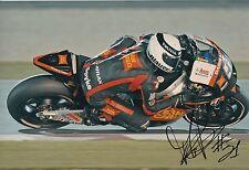 Michele Pirro firmato a mano SAN CARLO HONDA GRESINI 12x8 foto MOTOGP 2.