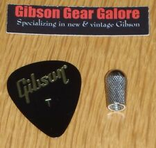 Gibson Les Paul Switch Tip Toggle Cap Nickel Metal Knob Guitar Parts SG Pick ES