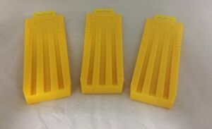 """(3) Wedges 10"""" Felling Bucking Falling, High Impact ABS Plastic Great Design!"""