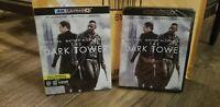 The Dark Tower ( 4K Ultra HD+ Bluray ) Same day Shipping read Below