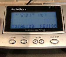 Radioshack Backlit CID Caller ID Call Waiting Box 10-VIP Numbers & Instructions