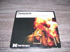 Deepack - Tha Roof Iz On Fire ! * RARE LIMITED EDITION CD SINGLE HOLLAND 2007 *