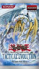 YU-GI-OH! FIRST EDITION TACTICAL EVOLUTION BOOSTER PACK