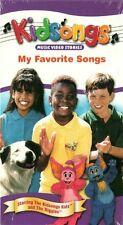 KIDSONGS MY FAVORITE SONGS New Sealed VHS Videotape