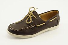 NEW White Mountain Headsail Brown Leather Boat Moc Shoes sz 10 Mismates NIB