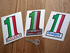 GILERA MALAGUTI & ITALJET  Italian motorcycle stickers