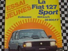 AUTO-HEBDO 1982 FIAT 127 SPORT / ROSBERG / AIRIKKALA / COSTA BRAVA
