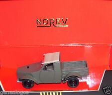 RARE MADE FRANCE NOREV LINE BLACK CITROEN 2CV PROTOTYPE 1939 PICK-UP 1/43 BOX