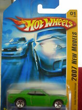 Hot Wheels Dodge Challenger Concept 2007 New Models Green 5sp