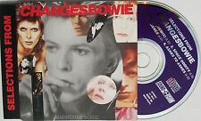 DAVID BOWIE CD Selections From Changes Bowie UK 4 Trk PROMO ONLY Mint Rare Fame