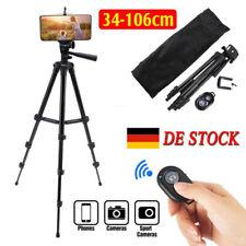 106cm Kamera Stativ,Handy Stativ Tripod Verstellbar+Bluetooth Fernbedienung DE