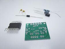 Kit fai da te scheda con amplificatore digitale audio stereo TDA7297 12V 15w+15w