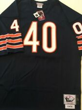 Mitchell & Ness Gale Sayers #40 1970 Throwback Jersey Size 52 Chicago Bears