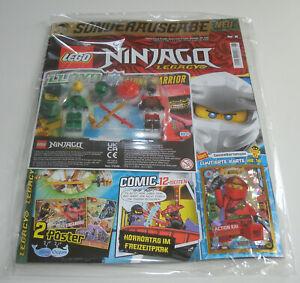 LEGO Ninjago Legacy - Magazin Nr. 6 Lloyd vs Stone Warrior + Limitierte Karte