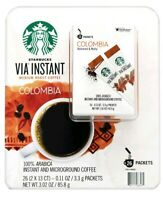 Starbucks VIA Ready Brew Colombia Medium Roast Instant Coffee Arabica 26 Packet☕