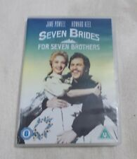 DVD - Seven Brides for Seven Brothers - Musical - VGC - R2 - UK