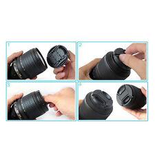 Durable 52 mm Front Lens Cap Center Snap on Lens cap for Nikon + Leash ATAU
