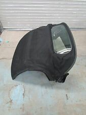 Porsche Boxster S 987 Convertible Top Frame Glass Window Black Canvas OEM