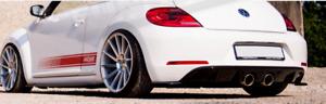 Auspuff Sportauspuff für VW Beetle 5C Typ 16 TSI TDI R-Line R32 Endschalldämpfer