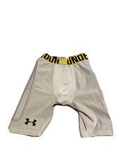 Under Armour Padded Football Heat Gear Compression Shorts. Youth Large.
