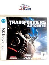 Transformers Autobots Nintendo DS PAL/SPA Precintado Videojuego Nuevo New Sealed