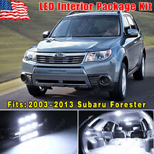14 PCS Super White LED Lights Interior Package Kit for 2003-2013 Subaru Forester