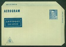 DENMARK 50ore, #4, aerogram (5) unused, VF