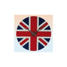 Orologio da parete vetro tondo bandiera inglese