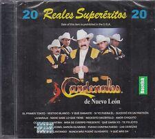 Los Cardenales de Nuevo Leon 20 Reales Superexitos CD New Nuevo