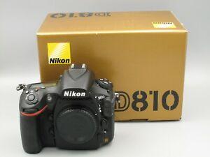 Nikon D810 FX DSLR Body Only; Shutter Count is 5,013