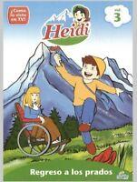 Heidi - Vol. 3-Heidi-Regreso a los Prados [New DVD] Argentina - Import, NTSC For