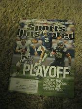 Dalton - Newton - James Sports Illustrated Magazine NOV 2010 COLLECTORS ITEM