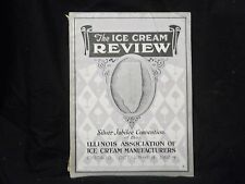1924 OCTOBER THE ICE CREAM REVIEW MAGAZINE - GREAT COVER & ADS - ST 1007