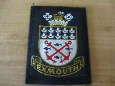 Vintage c1960s EXMOUTH Patch/Badge