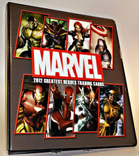MARVEL GREATEST HEROES 2012 BINDER WITH PROMO P3