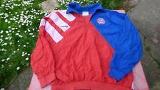 polo haut de survetement  Bayern de Munich Adidas Tactel  L vintage