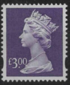 z440) Great Britain - Machin. 1999. MNH. SG y1802 £3. Dull violet. Royalty