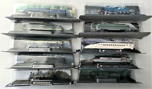 """Collectables, 10 x Authentic """"N"""" Scale Model Train Locomotive, Amer/Atlas"""