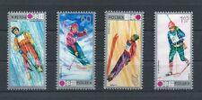 POLAND , 1972 OLYMPICS ,   SET OF 4., PERF , MNH