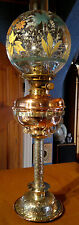Victorian Arts & Crafts Silver Plated Oil Lamp ~ Reid & Sons ~ Newcastle  c1880
