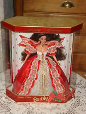 POUPEE BARBIE COLLECTION HAPPY HOLIDAYS BRUNE  ANNEE 1997 TBEG