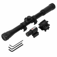 4x20 Air Rifle Optic Red Dot Sighting Telescope Mounts Hunting Sniper Scope TP