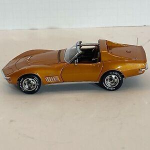Danbury Mint 1:24Scale, 1972 Chevrolet Corvette T-Top Coupe Diecast